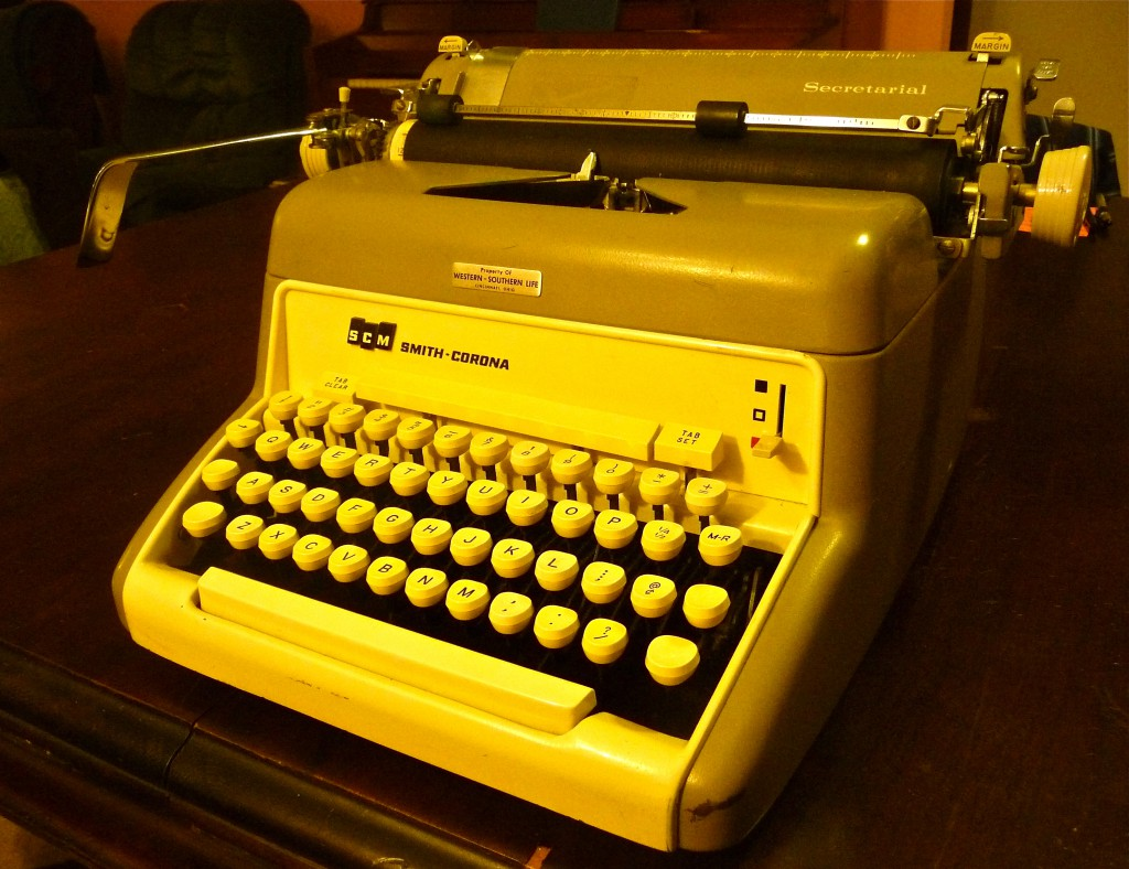 Down from an attic: a lovingly-kept secretarial Smith-Corona -- a heavy-duty machine that handles like a dream